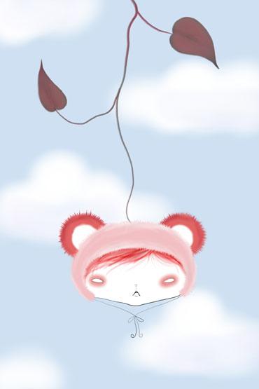 30-Strawberry-Panda-Hat