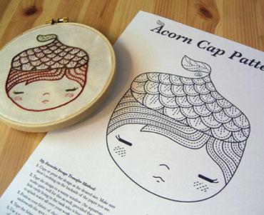 15-Acorn-Pattern